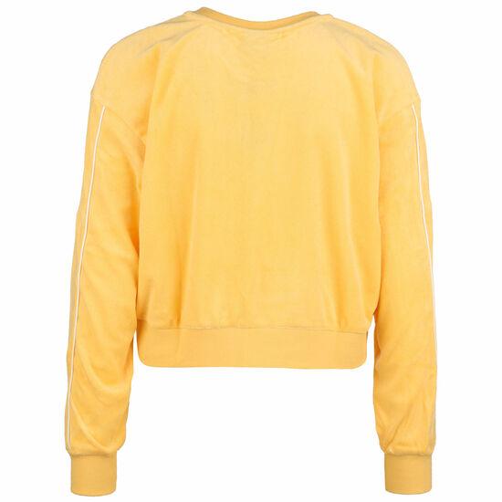 Retro Sweatshirt Damen, gelb, zoom bei OUTFITTER Online