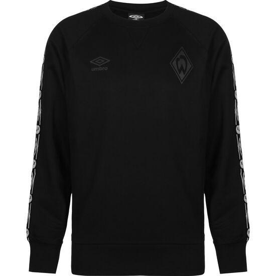 SV Werder Bremen Stealth Taped Sweatshirt Herren, schwarz, zoom bei OUTFITTER Online