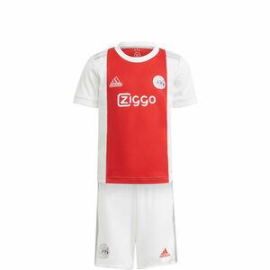 Ajax Amsterdam Minikit Home 2021/2022 Kleinkinder, weiß / rot, zoom bei OUTFITTER Online