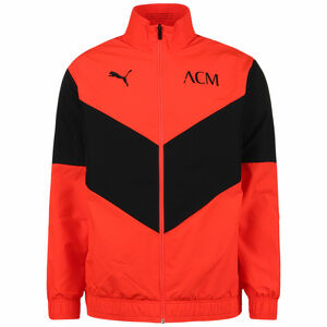AC Mailand Pre-Match Trainingsjacke Herren, rot / schwarz, zoom bei OUTFITTER Online