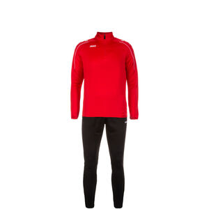 Classico Trainingsanzug Kinder, rot / schwarz, zoom bei OUTFITTER Online
