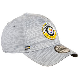 39THIRTY NFL Pittsburgh Steelers On-Field Sideline Road Cap, grau / gelb, zoom bei OUTFITTER Online