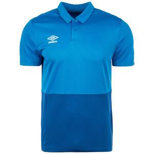 Poly Poloshirt Herren, blau / dunkelblau, zoom bei OUTFITTER Online