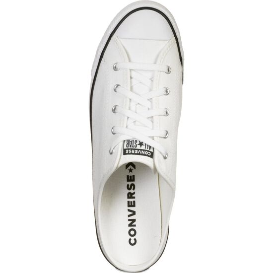 Chuck Taylor All Star Dainty Mule Slip Sneaker Damen, weiß / schwarz, zoom bei OUTFITTER Online