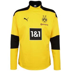 Borussia Dortmund Fleece Trainingssweat Herren, gelb / schwarz, zoom bei OUTFITTER Online