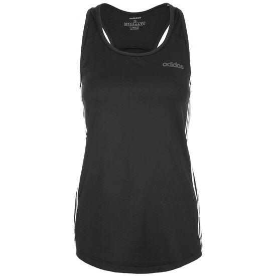 Design 2 Move 3-Streifen Trainingstank Damen, schwarz, zoom bei OUTFITTER Online