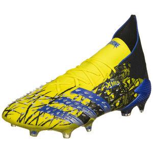 Predator Freak .1 FG Fußballschuh Herren, gelb / blau, zoom bei OUTFITTER Online
