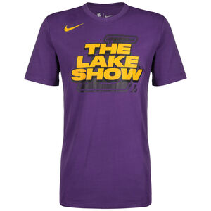 Los Angeles Lakers Dri-FIT T-Shirt Herren, lila / gelb, zoom bei OUTFITTER Online