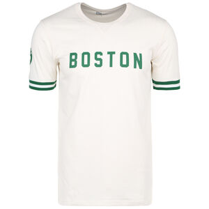 NBA Wordmark Boston Celtics T-Shirt Herren, beige / grün, zoom bei OUTFITTER Online