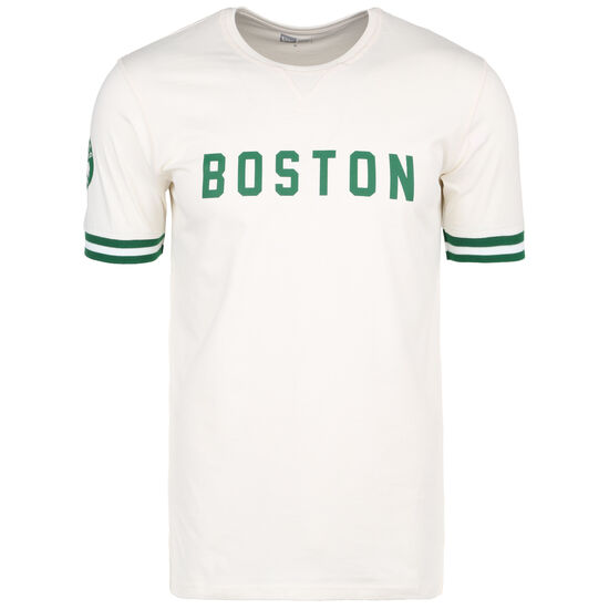 NBA Wordmark Boston Celtics T-Shirt Herren, beige / grün, zoom bei OUTFITTER Online
