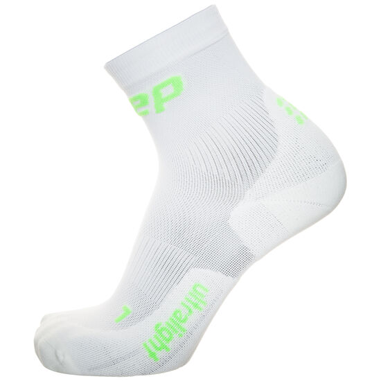 Ultralight Short Socks Kompressionssocken Damen, Weiß, zoom bei OUTFITTER Online
