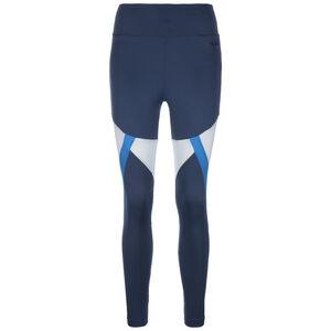 ClimaLite Colorblock Trainingstight Damen, dunkelblau / blau, zoom bei OUTFITTER Online