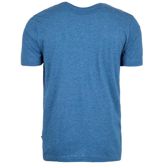 Essential+ Heather T-Shirt Herren, blau / weiß, zoom bei OUTFITTER Online