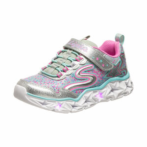 Galaxy Lights Sneaker Kinder, silber / rosa, zoom bei OUTFITTER Online