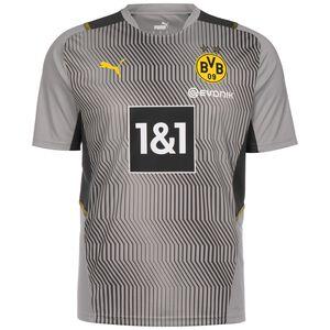 Borussia Dortmund Trainingsshirt Herren, grau / gelb, zoom bei OUTFITTER Online
