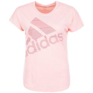 Badge of Sport Trainingsshirt Damen, pink, zoom bei OUTFITTER Online