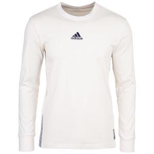 Real Madrid Sesaonal Special Longsleeve Herren, weiß / schwarz, zoom bei OUTFITTER Online