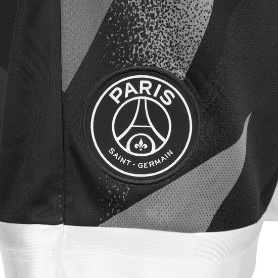 Paris St-Germain Jordan Blocked Diamond Trainingsshort Herren, schwarz / grau, zoom bei OUTFITTER Online