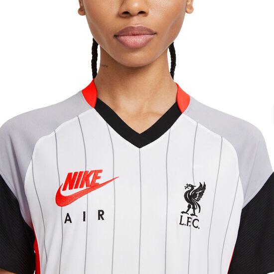 FC Liverpool Trikot Air Max Stadium 2020/2021 Damen, weiß / neonrot, zoom bei OUTFITTER Online