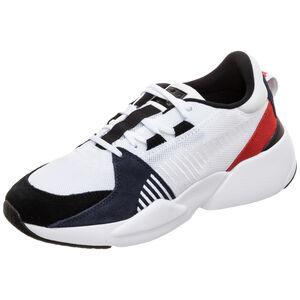 Zeta Suede Sneaker Herren, weiß / schwarz, zoom bei OUTFITTER Online