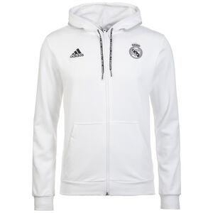 Real Madrid Kapuzenjacke Herren, weiß, zoom bei OUTFITTER Online