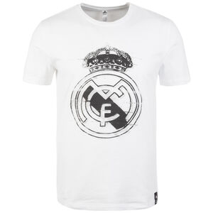 Real Madrid DNA Graphic T-Shirt Herren, weiß / anthrazit, zoom bei OUTFITTER Online