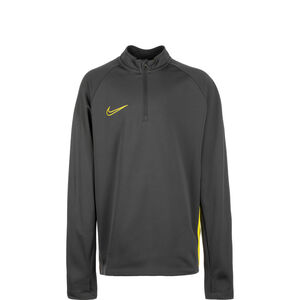 Dry Academy Drill Longsleeve Kinder, anthrazit / gelb, zoom bei OUTFITTER Online