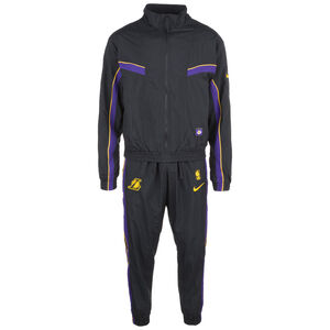 Los Angeles Lakers Courtside Trainingsanzug Herren, schwarz / lila, zoom bei OUTFITTER Online