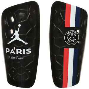 Paris St.-Germain Jordan Mercurial Lite Schienbeinschoner, schwarz / blau, zoom bei OUTFITTER Online