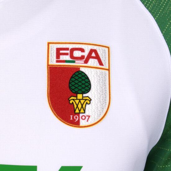 FC Augsburg Trikot Home Stadium 2019/2020 Herren, weiß / grün, zoom bei OUTFITTER Online