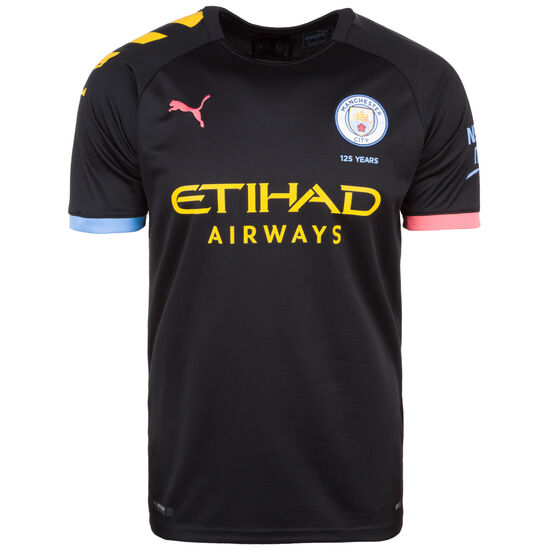Manchester City Trikot Away 2019/2020 Herren, schwarz / gelb, zoom bei OUTFITTER Online