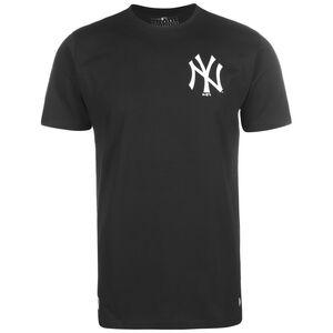 MLB New York Yankees Sleeve Taping T-Shirt Herren, schwarz / weiß, zoom bei OUTFITTER Online