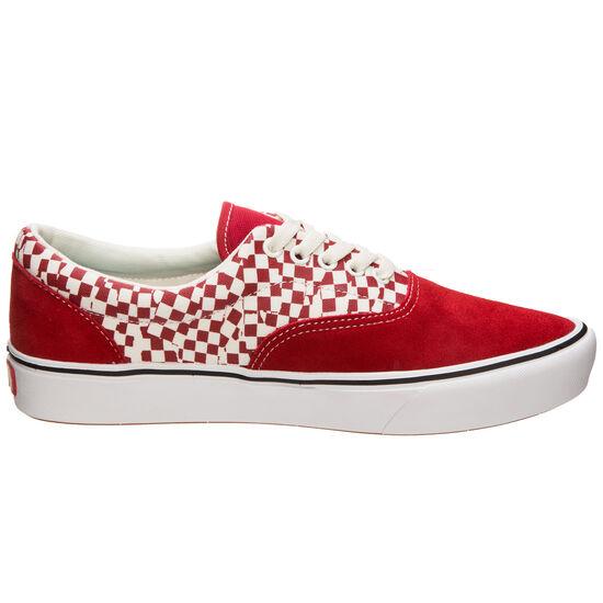 UA ComfyCush Era Sneaker Herren, rot / weiß, zoom bei OUTFITTER Online