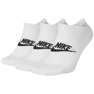 Everyday Essential No-Show Socken 3er Pack, weiß / schwarz, zoom bei OUTFITTER Online