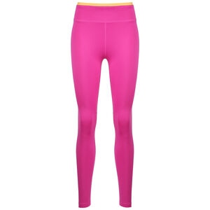 One Icon Clash 7/8 Trainingstight Damen, pink / gold, zoom bei OUTFITTER Online