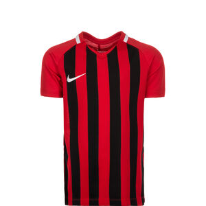 Striped Division III Trikot Kinder, rot / schwarz, zoom bei OUTFITTER Online
