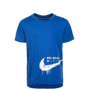 Breather Hyper Dry Trainingsshirt Kinder, blau / weiß, zoom bei OUTFITTER Online