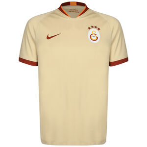 Galatasaray Istanbul Trikot Away Stadium 2019/2020 Herren, beige / rot, zoom bei OUTFITTER Online