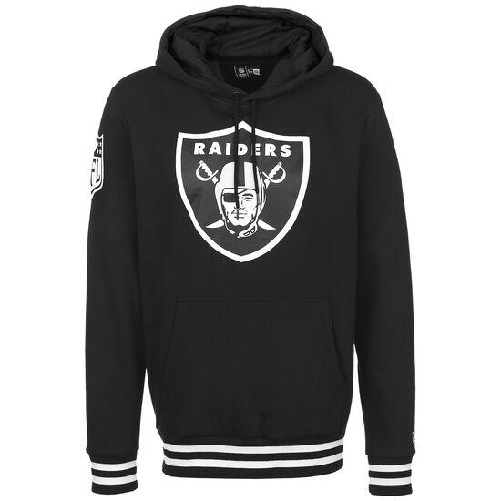 NFL Las Vegas Raiders Bold Logo Kapuzenpullover Herren, schwarz / weiß, zoom bei OUTFITTER Online