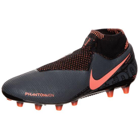 Phantom Vision Elite DF AG-Pro Fußballschuh Herren, dunkelgrau / korall, zoom bei OUTFITTER Online