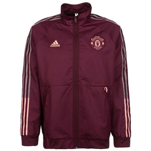 Manchester United Anthem Jacke Herren, bordeaux / rosa, zoom bei OUTFITTER Online