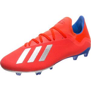 X 18.3 FG Fußballschuh Herren, rot / blau, zoom bei OUTFITTER Online