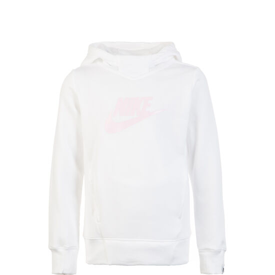 Graphic Kapuzenpullover Kinder, weiß / rosa, zoom bei OUTFITTER Online