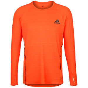 Runner Lauflongsleeve Herren, neonorange / orange, zoom bei OUTFITTER Online