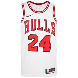 Chicago Bulls Markkanen Swingman Basketballtrikot Herren, weiß / rot, zoom bei OUTFITTER Online