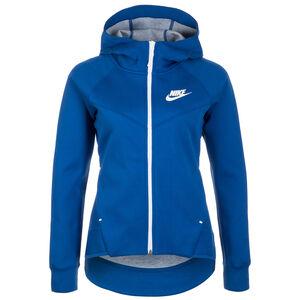 Sportswear Tech Fleece Windrunner Damen, blau / weiß, zoom bei OUTFITTER Online