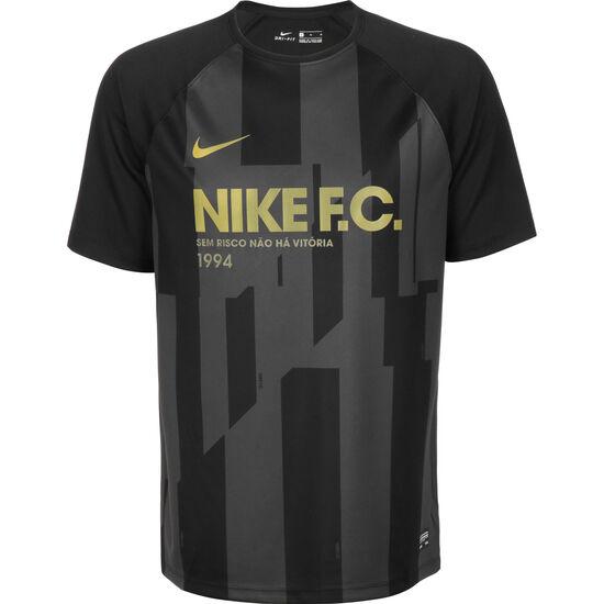 F.C. Fußballtrikot Herren, schwarz / anthrazit, zoom bei OUTFITTER Online
