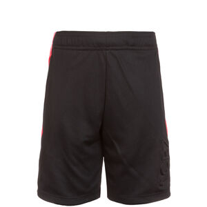 CR7 Dry Short Kinder, schwarz / neonrot, zoom bei OUTFITTER Online