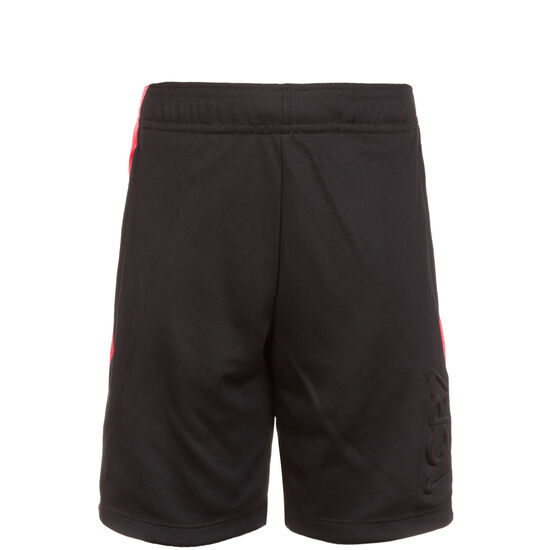 CR7 Dry Short Kinder, schwarz / neonrot, zoom bei OUTFITTER Online