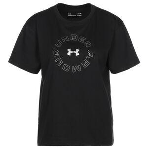 Graphic Trainingsshirt Damen, schwarz, zoom bei OUTFITTER Online